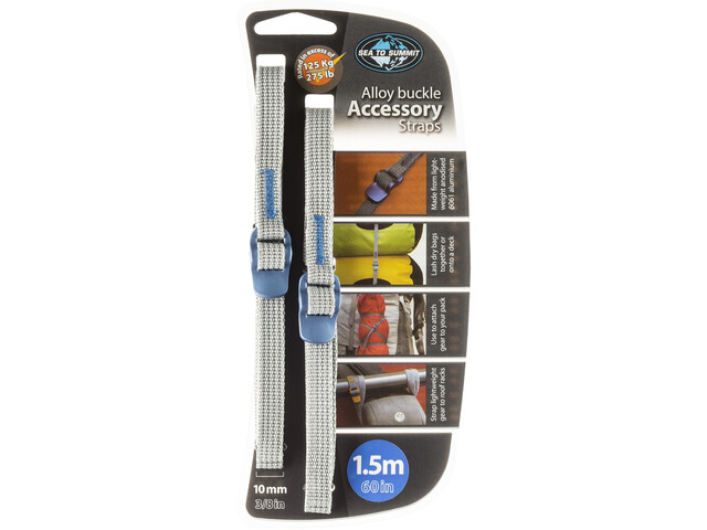 Sea to Summit Hook Release Accessory Straps 10mm/1,5m, blue